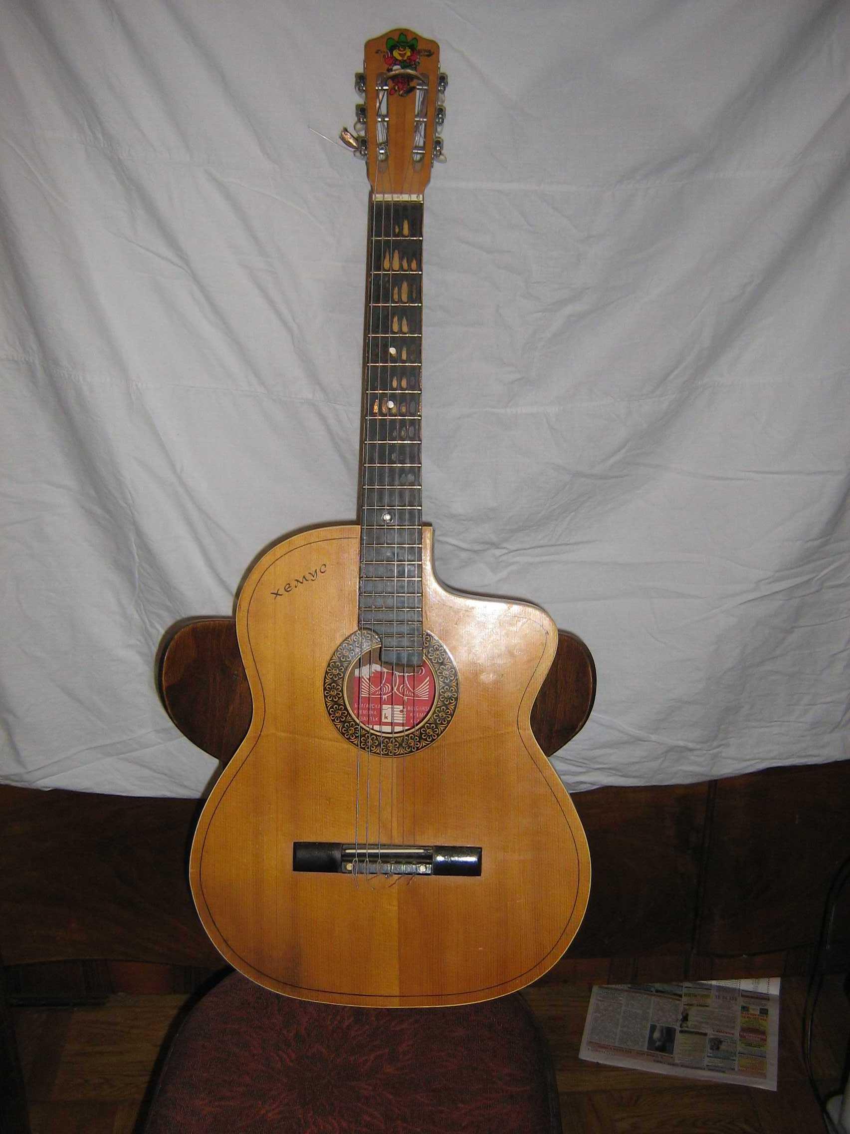 Технология изготовления акустических гитар 88